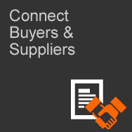 Connects Buyers & Suppliers